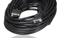 25' / 7.6m VGA extension cable, male to male.