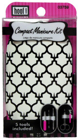 Hoof Compact Manicure Kit - Persian Lattice Design