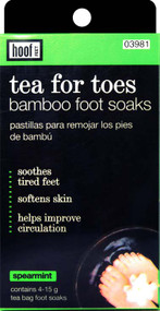 Hoof Tea For Toes Foot Soaks Box