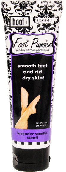 Hoof Lavender Vanilla Scent Foot Pumice Lotion