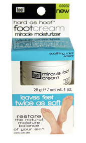 Hard as Hoof Peppermint Scented Miracle Foot Cream