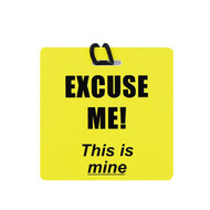 "JetSet ""Excuse Me - This is Mine"" Luggage Tag"