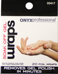Onyx Professional Soak Off Gel Wraps