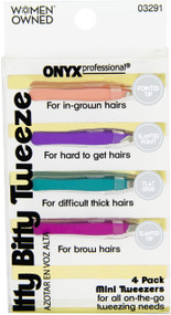 Onyx Professional Mini Tweezer Set