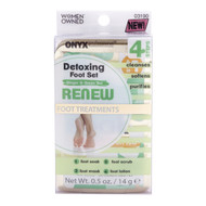 Onyx Professional Ginger & Green Tea Detoxing Foot Set