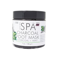 Onyx Pro Spa Charcoal Mint Foot Mask 7oz