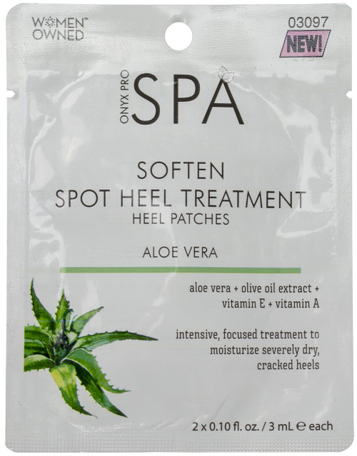 Onyx Pro Softening Spot Heel Treatment Patches