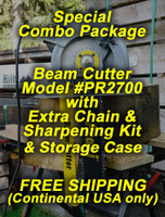 "12"" Beam Cutter PR-2700 Special Combo Package"
