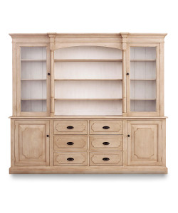Lawson Standard Hutch, Cashew/Raw