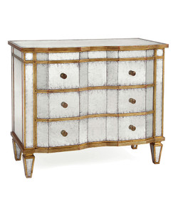 Eglomise Chest Of Drawers