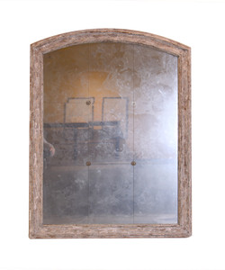 Arched Mirror With Rosettes