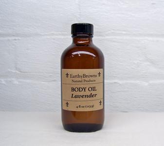 Body Oil Lavender