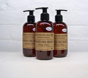 Orange Clove Liquid Soap