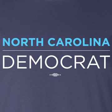 North Carolina Democrat (on Navy Tee)