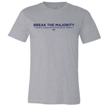 Break The Majority (on Athletic Heather Tee)
