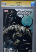 CGC SS 9.8 Moon Knight #1, Signed by David Finch