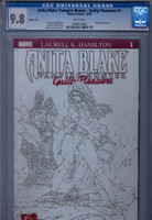 CGC 9.8 Anita Blake: Vampire Hunter - Guilty Pleasures #1 Sketch Cover