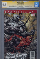 CGC SS 9.8 Moon Knight #7, Signed by David Finch