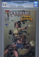 CGC 9.8 Witchblade/Tomb Raider #1/2