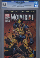 CGC 9.8 Wolverine: The End #1 WW Texas Con Variant