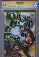 CGC 9.8 SS World War Hulk #1 Romita Jr. Variant