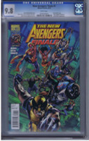 THE NEW AVENGERS FINALE #1 BRYAN HITCH COVER CGC 9.8