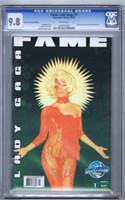 Fame Lady Gaga variant exclusive CGC 9.8