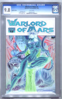 Warlord of Mars #1 J. Scott Campbell Negative Variant CGC Graded 9.8