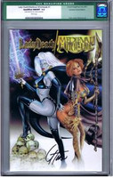 Lady Death Medieval Witchblade #1 Dynamic Forces SS CGC #1 Green Label
