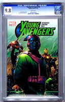 Young Avengers #4 CGC 9.8