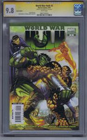 World War Hulk #2 Variant Edition CGC 9.8