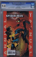 Ultimate Spiderman Annual #1 CGC 9.8