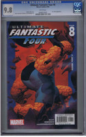 Ultimate Fantastic Four #8 CGC 9.8