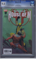 House of M #8 CGC 9.8 Variant Cover