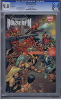 House of M #7 CGC 9.8 Variant Cover