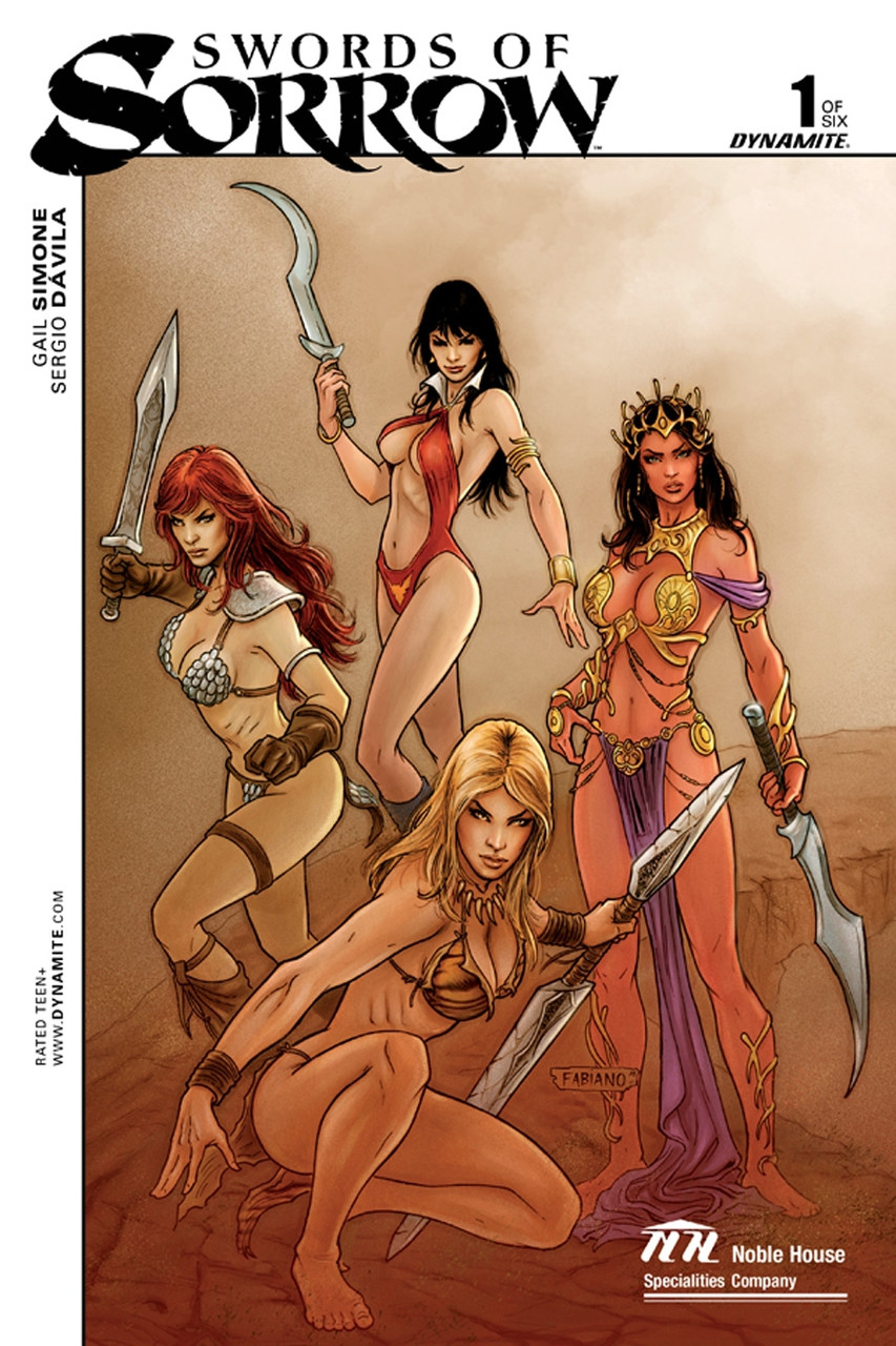 SWORDS OF SORROW # 1cover V Noble House exclusive by Fabiano Neves!