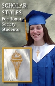 White Scholar Stole - Honor Society Students
