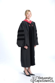 Harvard University Complete Divinity Outfit
