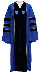 Bentley University Doctoral Gown