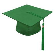 Green M2000 Cap & Tassel