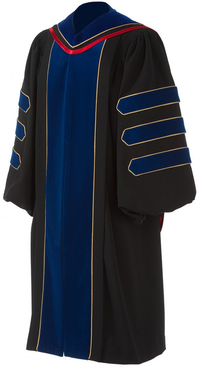 Doctoral Deluxe Package Includes Hood And Cap