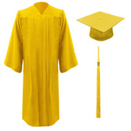 Gold Freedom Cap, Gown & Tassel