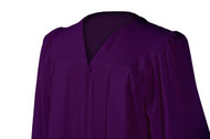 U-Dark Purple Gown
