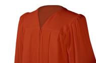 U-Burnt Orange Gown