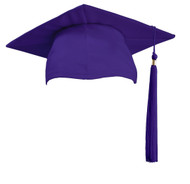 U-Purple Cap & Tassel