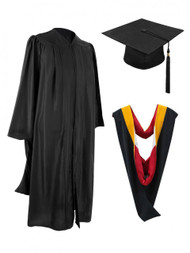 MASTER M2000 Cap, Gown, Tassel & Hood