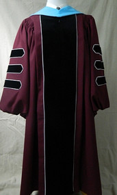 UMASS AMHERST Deluxe (Custom Tailored) Doctor Outfit (Includes Gown, Hood, Tam and Tassel)