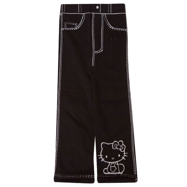 Hello Kitty leggings in black for baby girls