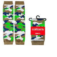 Camo print leg warmers for girls. 0 - 2T