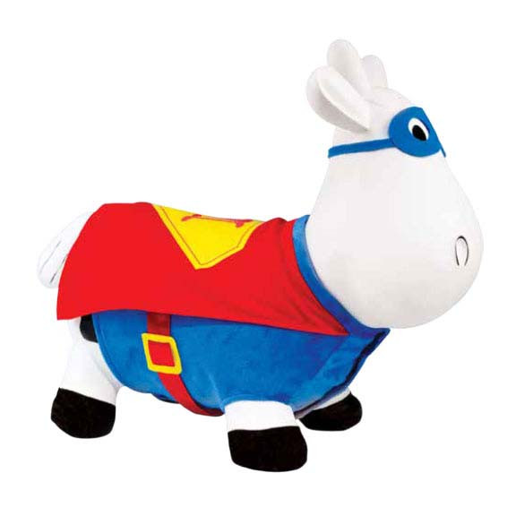 Super Hero Costume for Howdy Cow - Side
